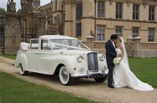 Classic Wedding Car Hertfordshire